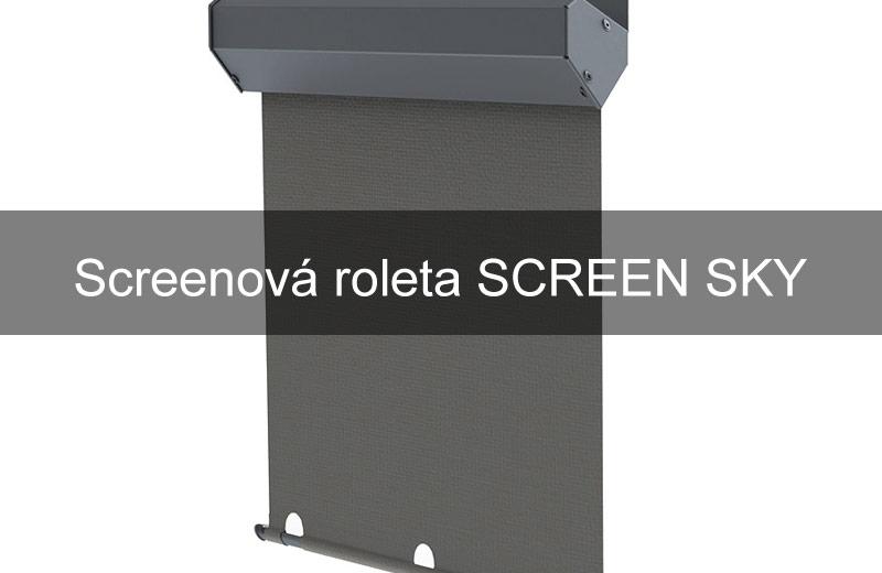 Screenová roleta SCREEN SKY